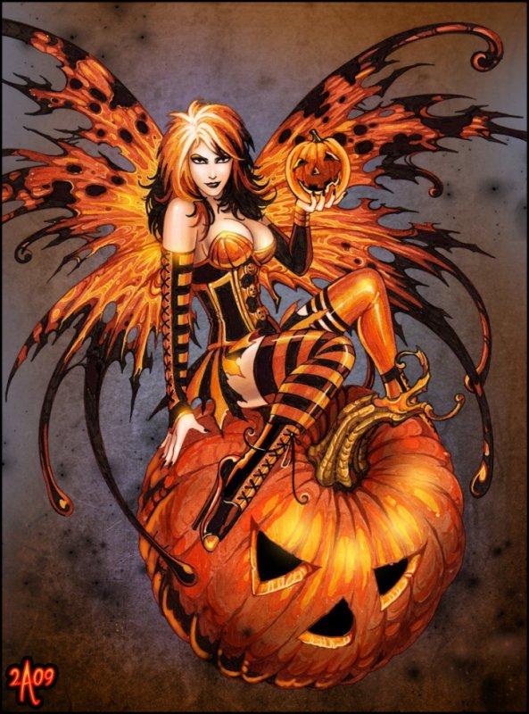 la fée halloween