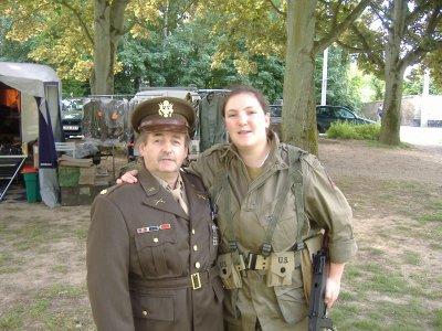 Moi et le major