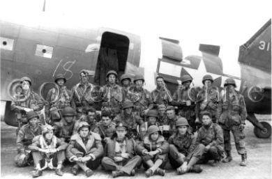 Pionniers avec 82ème Aéroporté avant décollage de Jour J