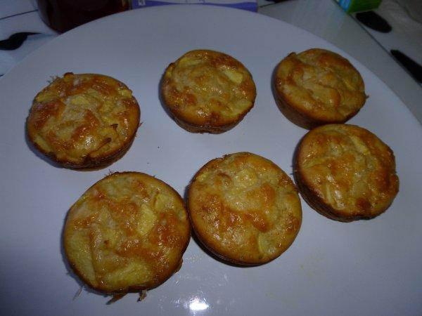 muffins light aux pommes