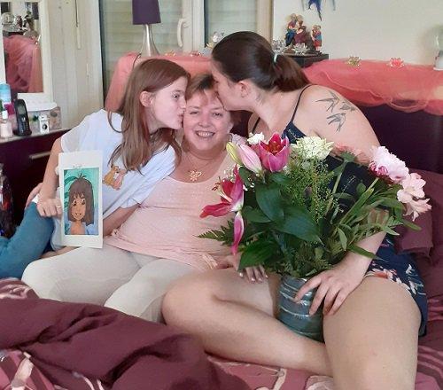 La plus belle fête des mères de toute ma vie...