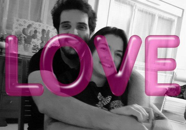 Ma fille Justine (19 ans), et Sergio, son petit ami.