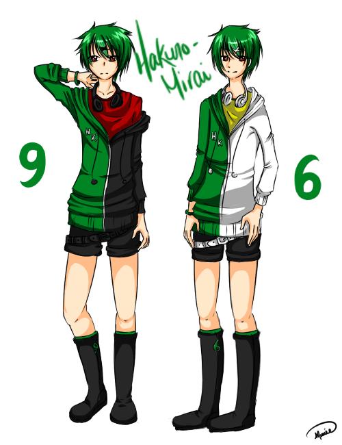 Genshine Kyuu and Roku (UTAU)
