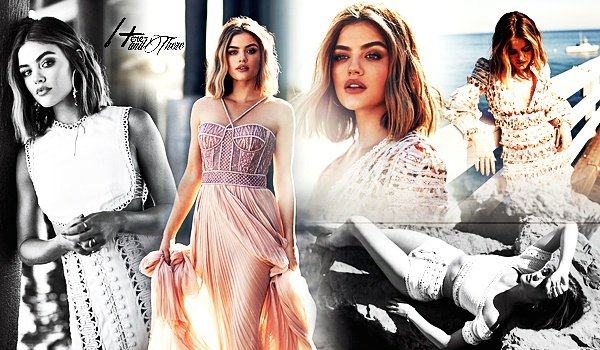 People Photoshoot - Interview Lucy Hale pour Modeliste Magazine (Juin 2018)
