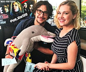 People - Event - Série  The 100 Bob Morley & Eliza Taylor au Comic Con de San Diego 2018