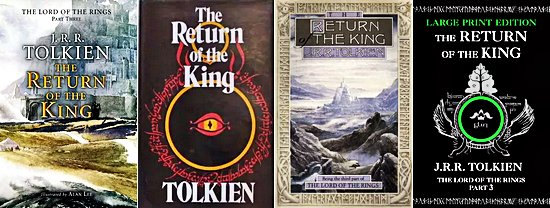 Livre The Lord of the Rings : The Return of the King