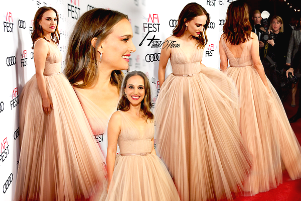 People Event Natalie Portman au AFI Fest 2018