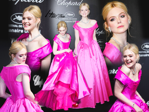People Event Elle Fanning au 72e Festival du Film de Cannes