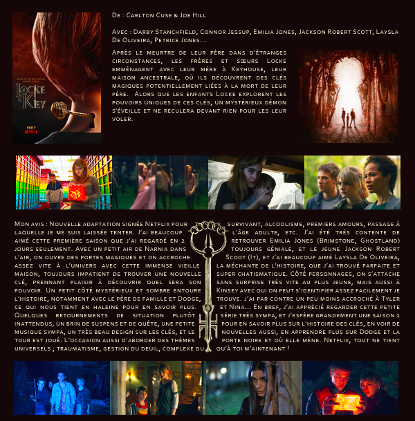Série Locke & Key (Saison 1)
