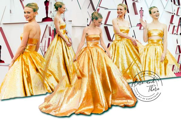 People - Event Zendaya Coleman, Carey Muligan et Amanda Seyfried aux 93ème Annual Academy Awards