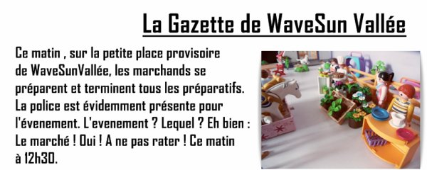 La Gazette de WaveSun Vallée : Spécial TODAY