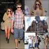 .                                                                                                                                                                                                              ◊ 21/09 :  Miley et Liam à l'aéroport LAX                                                                         .