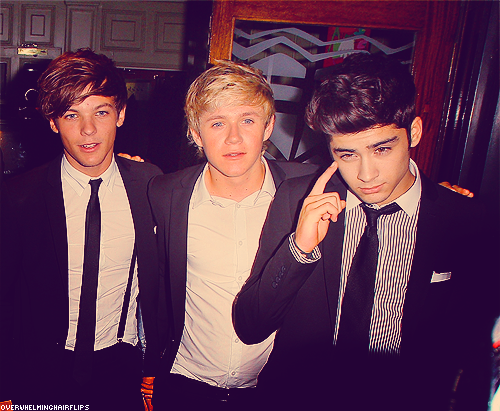louis, niall and zayn ♥