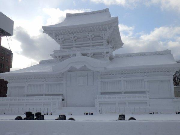 Yuki matsuri 雪祭りla fête de la neige à Sapporo