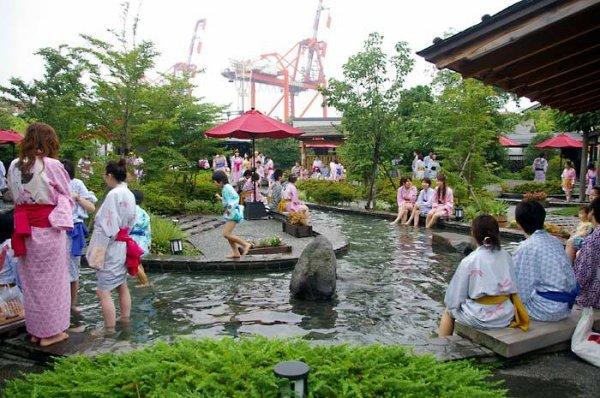Ooedo Onsen Monogari à Odaiba