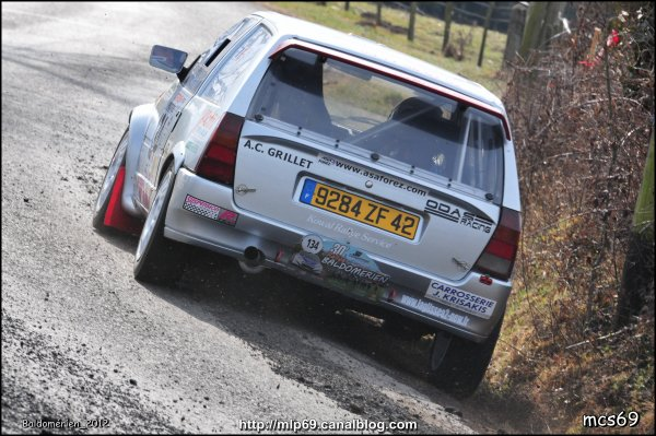 12ème rallye: Le 30ème Rallye Régional Baldomérien 2012 (42)