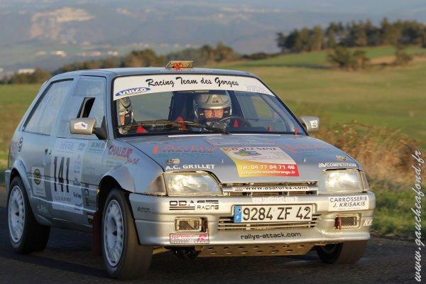 13ème rallye: Le 10ème Rallye National du Val d'Ance (43)