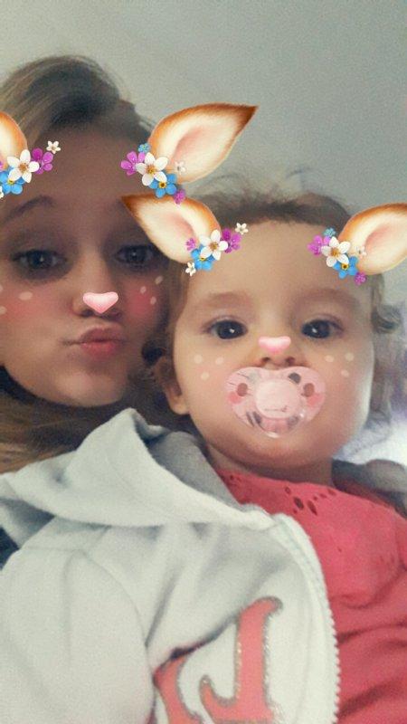 Ma babys ma soeur je t aime 😍😍