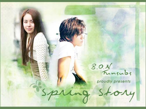 Spring Story // 2parties // film Japonais // Amour // 200?