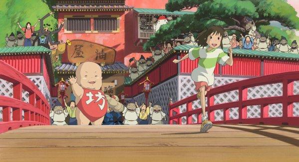 le voyage de chihiro // 5 parties // Film Japonais // Aventures // 2001