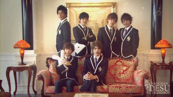 Ouran High School Host Club // Drama Japonais // 11 épisodes // Comédie // 2012