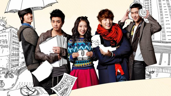 Flower Boy Next Door // 16 épisodes // Drama Coréen // Amour // 2013