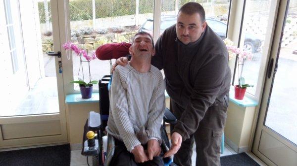 Vincent et son ami Benoit !