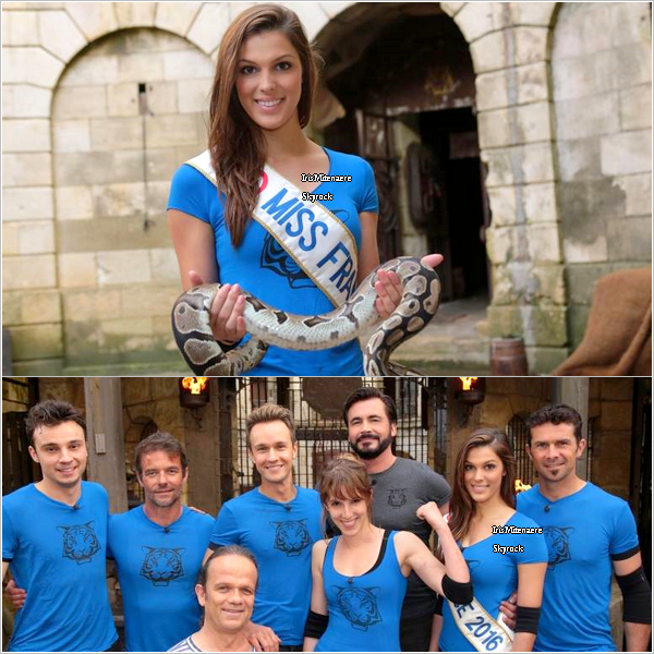 05/07/16 : Fort Boyard - Shooting