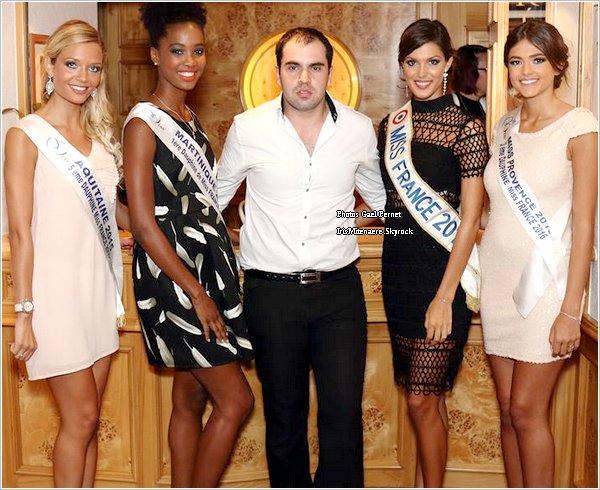 27/10/16 : Paris - Tuto Makeup Forever - Miss Franche Comté