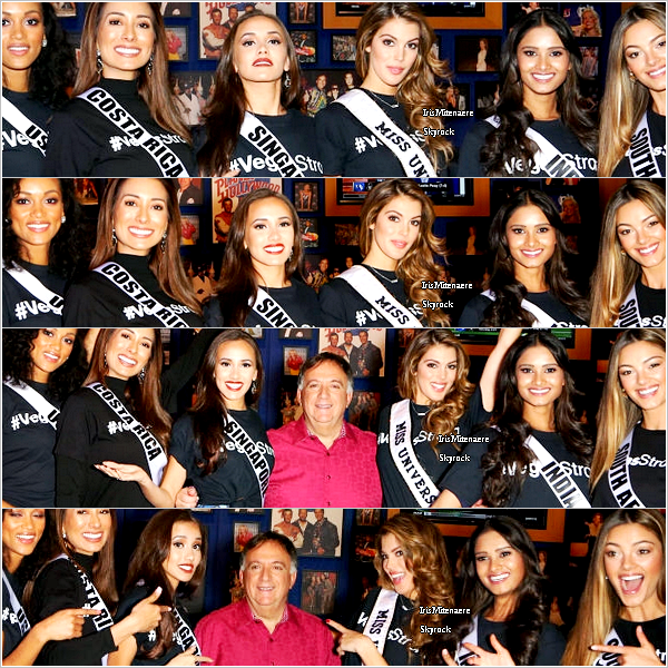 16/11/17 : Las Vegas - Miss France 2018