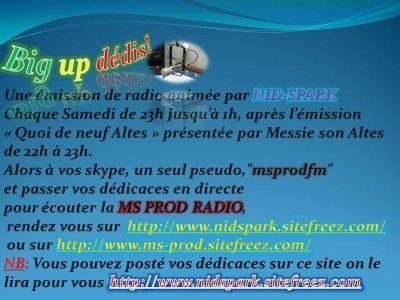 Big Up Dedis (émission)