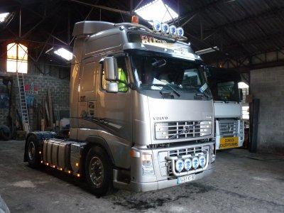 le camion de Claude BAULOT le patron