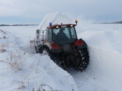 mais y a du  taf  par endroit  2m de neige