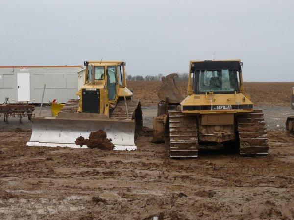 2è phase des fouilles archéologiques  près de Marquion Canal Seine-Nord