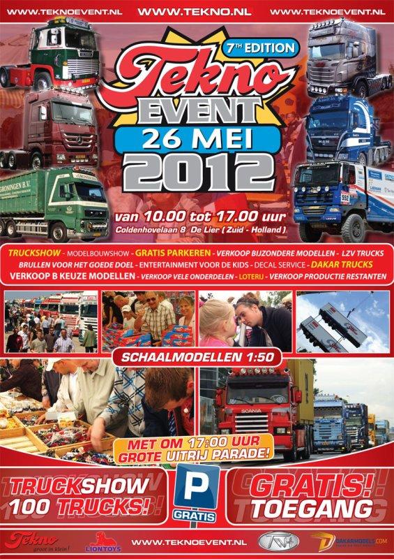 Tekno Event 2012  j'y serais