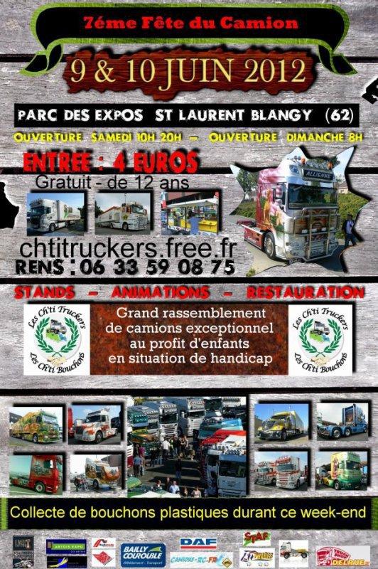 Expo les chtis trucks  à Arras venez nombreux