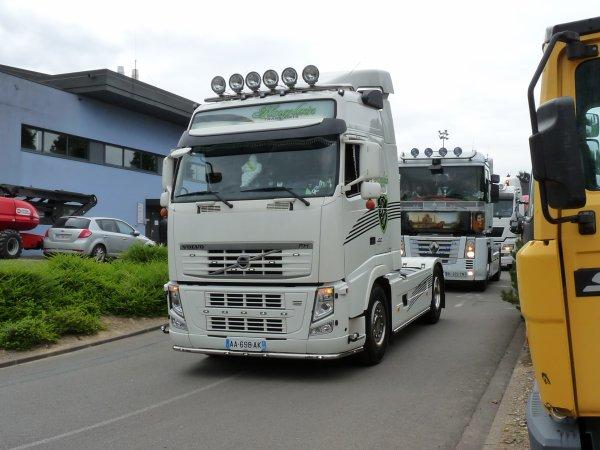 7è édition des chti truckers  les VOLVO