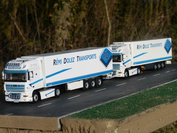 Le camion du boss Rémi DOLEZ en miniature au 1/50