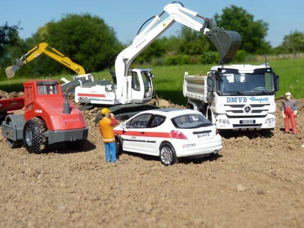 Mes nouveaux modèles  Eiffage  DMVB sur un petit diorama