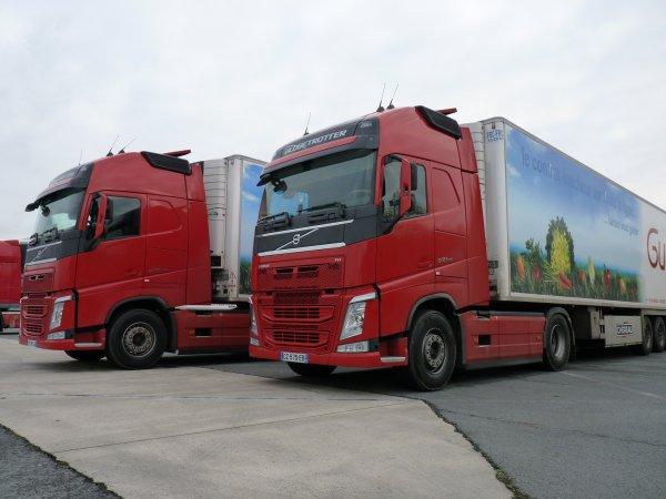 Le Nouveau FH Volvo chez Guidez