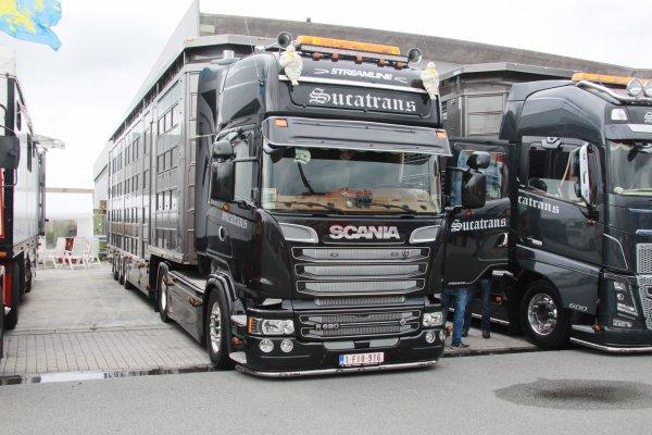Expo de camions à Rekkem  bravo les belges
