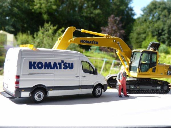 Mon nouveau véhicule d'assistance KOMATSU