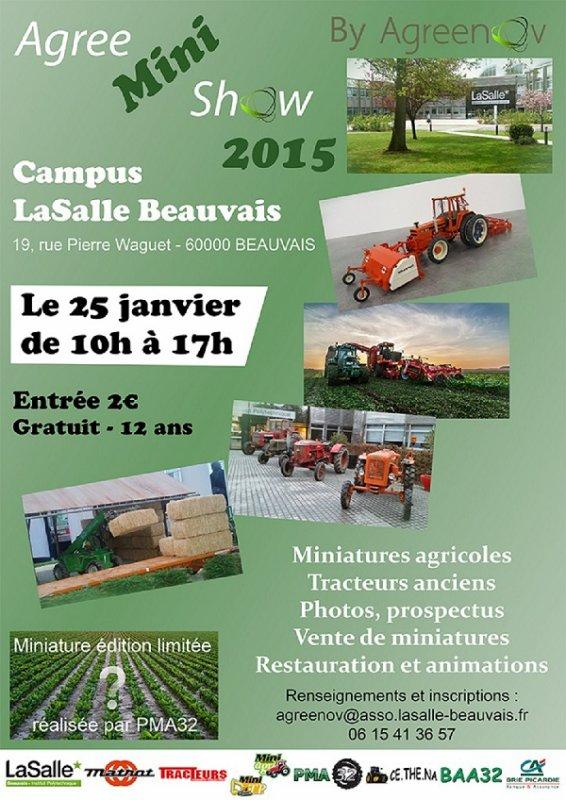 Samtp59 sera présent au Agree Mini Show à Beauvais    Venez nombreux