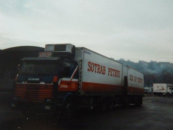 Nostalgie quelques anciens transporteurs avec qui je suis descendu dans le Sud