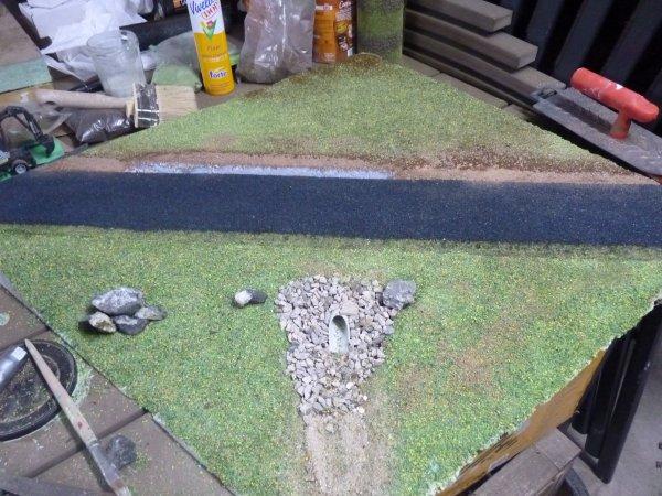 Présentation de la réalisation d'un diorama