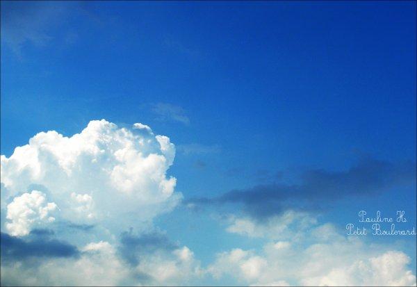 Un mouvement de nuages.