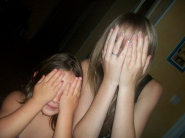 Ma petite Princesse et moi meme :)