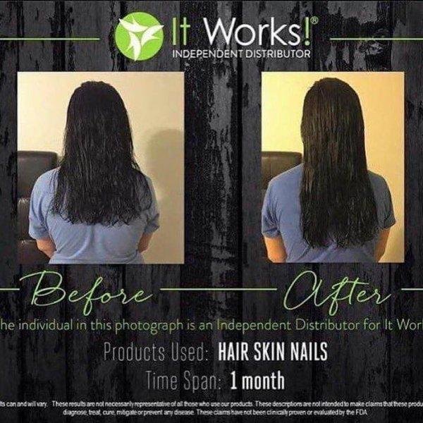 Résultat du HAIR SKIN NAIL en seulement 1 mois