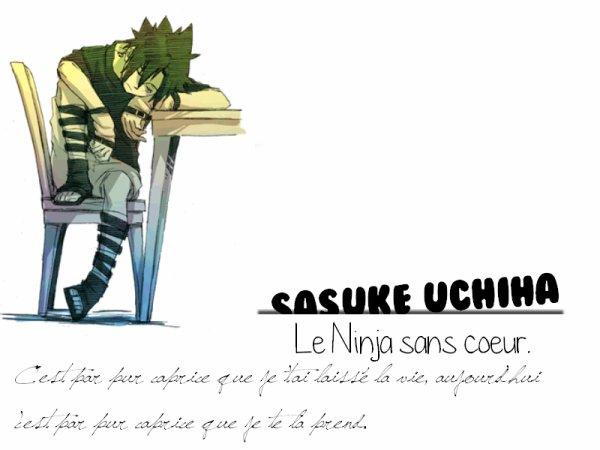 Sasuke Uchiha !