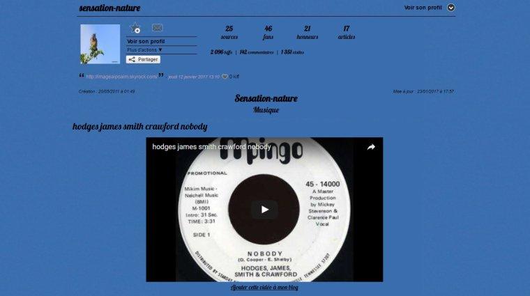 Autre blog spécial musiques ...